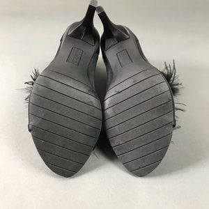 Kenneth Cole Reaction Shoes - Kenneth Cole Reaction Feather Peep Toe Booties